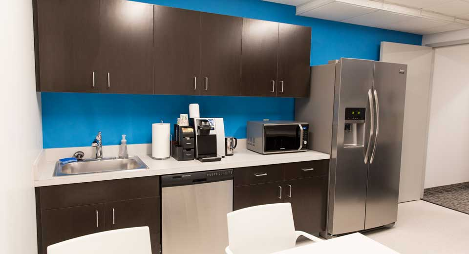 Shared Offices- Kitchen