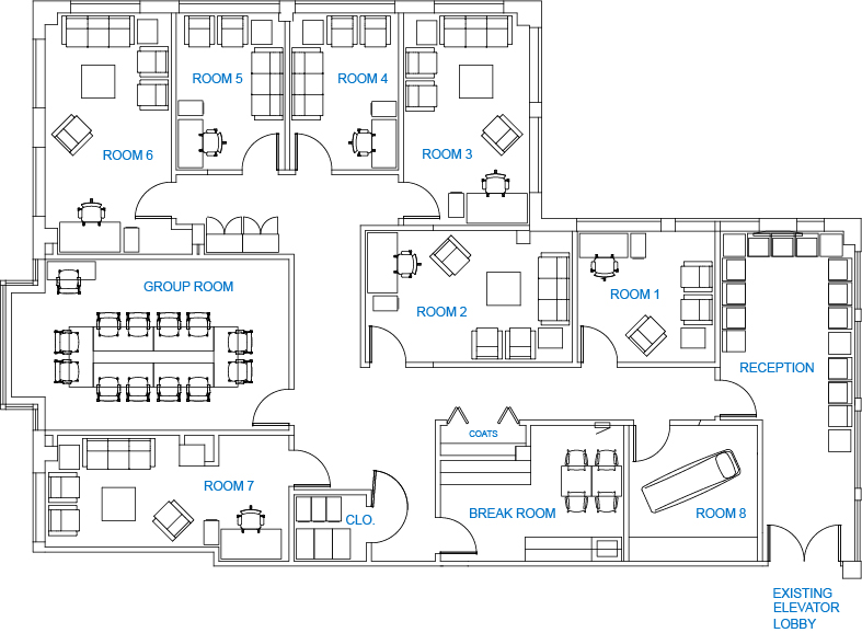 Nexis Wellness floorplan