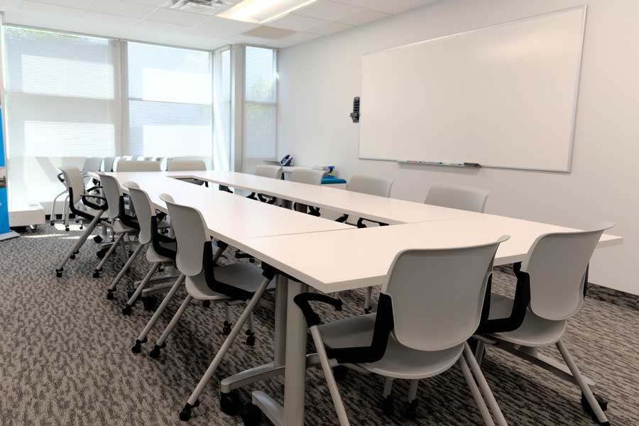 Nexis Wellness shared medical office space conference room