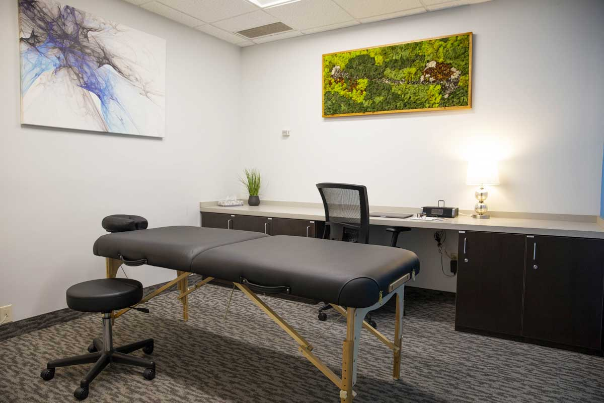 Nexis Wellness shared medical office space treatment room