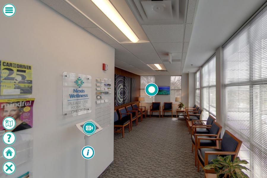 Nexis Wellness virtual tour